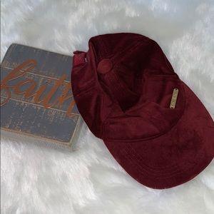 Bebe velvet hat